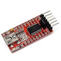 Module FT232RL FTDI 5V 3.3V Convertisseur USB a TTL Adaptateur Rouge Convertisseur serie FT232RL FTDI USB module adaptateur pour Arduino TTL caracteristique: Chip: FT232RL Debranchez toutes les connexions de signal de la puce FT232RL RXD / TXD affich...