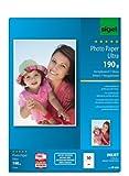Sigel IP639 InkJet-Fotopapier Ultra, A4, 50 Blatt, hochglänzend, extrem lichtbeständig, 190 g - auch mit 20 Blatt