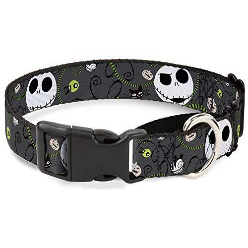 Expressions/Halloween Elements grau Disney Martingal Kunststoff Clip Halsband ()