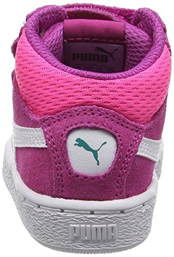 Puma Unisex-Kinder 1948 Mid V Inf Low-Top Pink (ultra magenta-puma white 15)