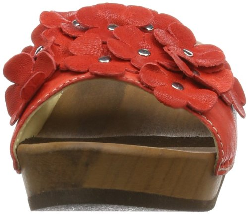 Woody Lilli, Sabot donna Rosso (Rot (Dixan Rot))