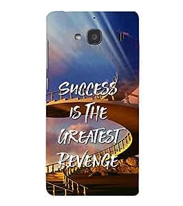 YuBingo Xiaomi Redmi 2 :: Xiaomi Redmi 2S :: Xiaomi Redmi 2 Prime Designer Phone Back Case Cover ( Success is the Greatest Revenge )