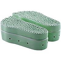 ZDDAB Keramik Fuß Moxibustion Fußmassagegerät Akupressurmassager Haushalt Moxibustion Schuhe Vatertag geschenk preisvergleich bei billige-tabletten.eu