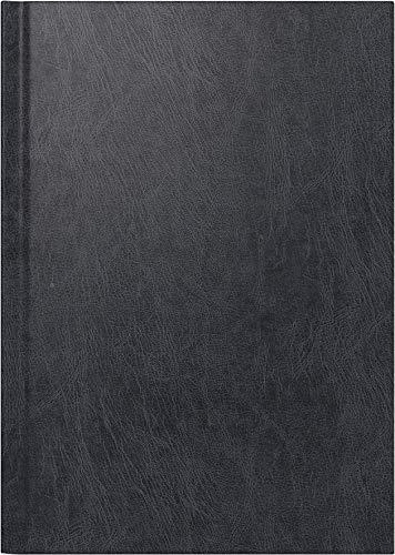rido/idé 702181390 Buchkalender Chefplaner (1 Seite = 1 Tag, 145 x 206 mm, Miradur-Einband, Kalendarium 2020) schwarz