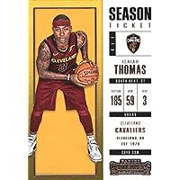 2017–18Dépasse Panini Season Ticket # 22Isaïe Thomas Cleveland Cavaliers Basketball carte