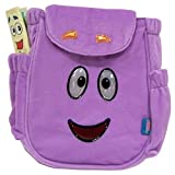 2pc Dora Diego Orange Purple Plush Backpack by Dora Mr. Face with Map and Diego Go Diego Plush Ba by Unknown