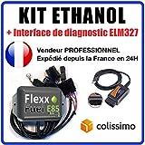 Kit de Conversion Ethanol E85 pour véhicules 3 cylindres + Interface...