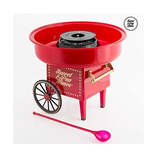 Macchina per fare lo zucchero filato Sweet & Pop feste party candy machine