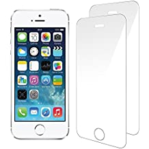 iPhone SE/5/5S/5C Pellicola Protettiva, [2 Pack] Ohero Temperato di Protezione in Vetro Dello Schermo per iPhone SE/5/5S/5C [Anti-Scratch] 0,2mm 9H Schermo Protezione