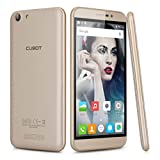 CUBOT NOTE S 3G Smartphone 5,5 Zoll Android 6,0 Quad Core IPS HD Screen Handy ohne Vertrag 2GB+16GB Dual SIM Dual Kamers GPS WIFI Bluetooth OTG Hotknot GMS Gold