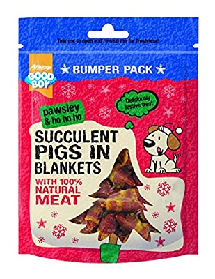 Pawsley Succulent Pigs in Blankets 300 Gram Dog Treat