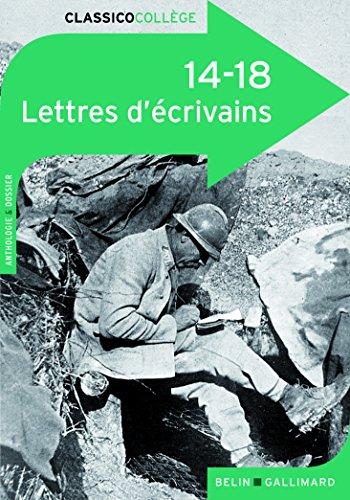14-18:Lettres d'écrivains