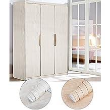 kinlo rollos pegatina mueble de madera ropa x m vinilo papel pintado impermeable