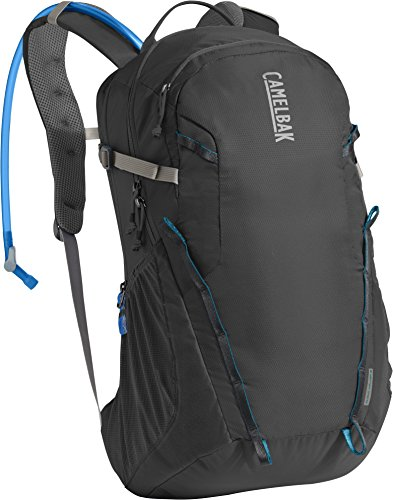 Camelbak Hydration Backpack (CHARCOAL/GRECIAN BLUE, CLOUD WALKER 18 - 2.5L)