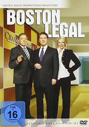 Boston Legal - Staffel 3 (6 DVDs)