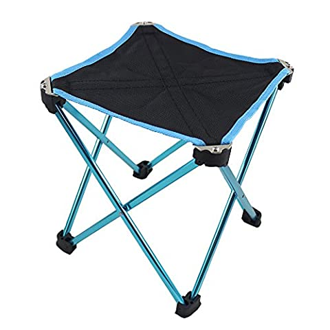 Outdoor Folding Stool Chair by BeGrit for Fishing Camping Hiking