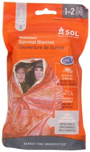 Adventure Medical Kits Survival Blanket - Orange, 2 Persons