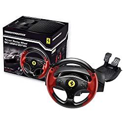 Thrustmaster Ferrari Racing Wheel Red Legend Edition - Volant PS3 et PC