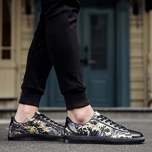 ZXCV Scarpe all'aperto Scarpe sottili degli uomini per sport all'aria aperta scarpe da uomo Nero