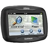 """Garmin Zumo 340LM CE Navigatore Auto/Moto, Europa Centrale, Schermo Touch 4.3"""", Audio Bluetooth, Nero"""