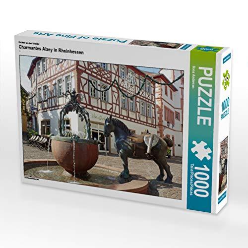 CALVENDO Puzzle Charmantes Alzey in Rheinhessen 1000 Teile Lege-Größe 64 x 48 cm Foto-Puzzle Bild von Ilona Andersen