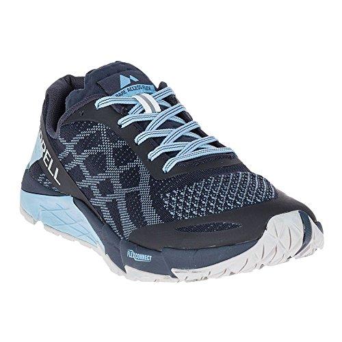 Merrell Bare Access Flex E-knit Scarpe De Trail Corsa - Ss18 Azul