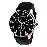 Golden Bell Original Chronograph Analogue Black Dial Wrist Watch for Men - GB-374BlkD