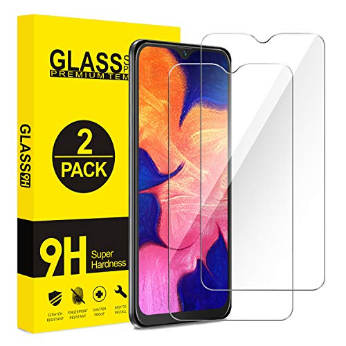 ivencase [2 Pièces] Verre Trempé Samsung Galaxy A10E, Film Protection en Verre trempé, sans Bulles d'air, Anti-Rayures, écran Tactile Transparent HD 9H pour Samsung Galaxy A10E
