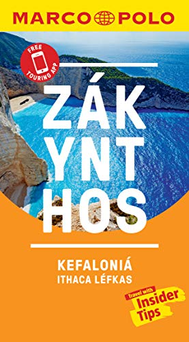 Zakynthos and Kefalonia Marco Polo Pocket Travel Guide 2019 - with pull out map (Marco Polo Pocket Guides)