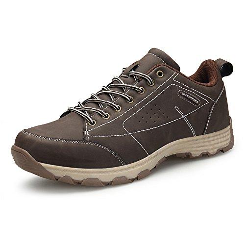 ZOEASHLEY Herren Wanderschuhe Halbschuhe Wasserdicht Atmungsaktiv Outdoor Trekking Schuhe Gr.39-46