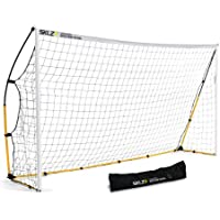Sklz Kickster Goal 12x6 - Portería de fútbol montable, 3.60 x 1.80 m
