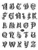 Viva Decor Silikonstempel Alphabet groß 14 x 18 cm