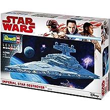 Revell 06719Maqueta de, Star Wars 1: 2700–Imperial Star Destroyer, niveles 4, orginalgetreue imitación con muchos detalles