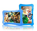 Kids HD Tablet - 7 Inch Kids Jumbo HD Tablet PC Bundle (Quad Core, 1 GB RAM, 8GB Hard Drive, Google Android Kitkat 4.4, WIFI Enabled) + Extra Heavy Duty Kid Proof Silicon Case - Tecwizz (Blue)