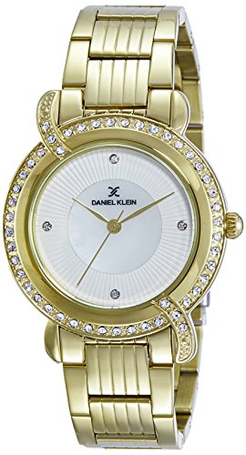 Daniel Klein Analog Gold Dial Women's Watch - DK10969-2