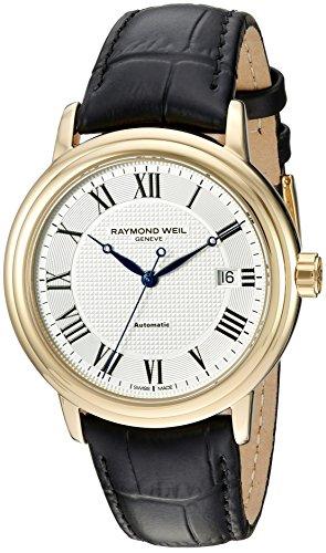 Raymond Weil 2837-PC-00659 - Reloj de pulsera hombre, piel, color negro