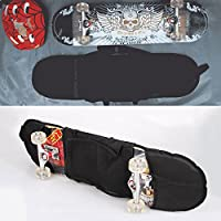 Beautyrain Monopatín Bolsa Viagdo Skateboarding Patineta Patineta Cubierta Longboard Mochila Llevar Bolsa
