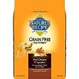 Nature's Recipe Grain Free Easy to Digest Dry Dog Food, Chicken, Sweet Potato & Pumpkin Recipe, 12-Pound