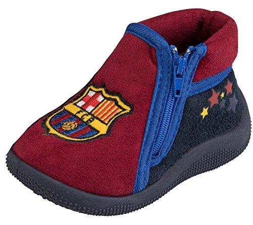 Hausschuhe Barca–offizielle Kollektion FC BARCELONA–Größe Baby Jungen, Baby Junge, blau