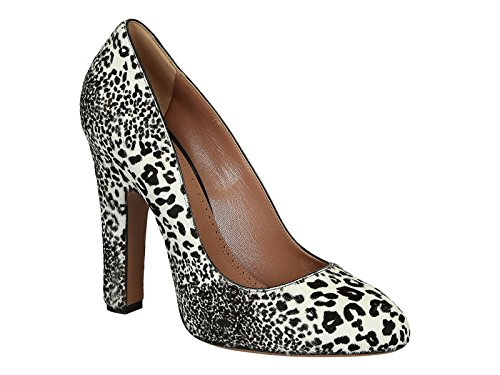 Chaussures à talon Alaïa en cuir type poulain leopard - Code modèle: 3W3I324CL05 Multicolore