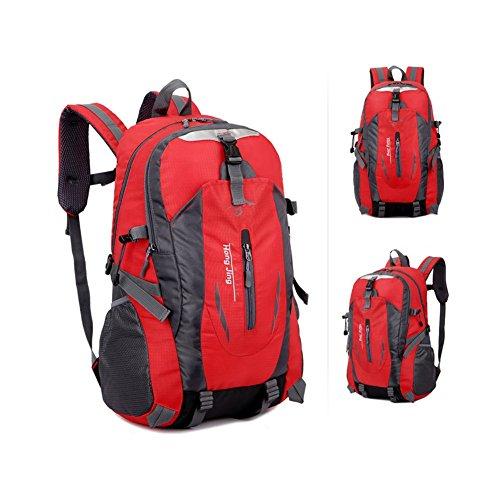 35L Outdoor alpinismo borsa uomini e donne spalla Borsa sportiva per il tempo libero zaino da viaggio., Blue gules