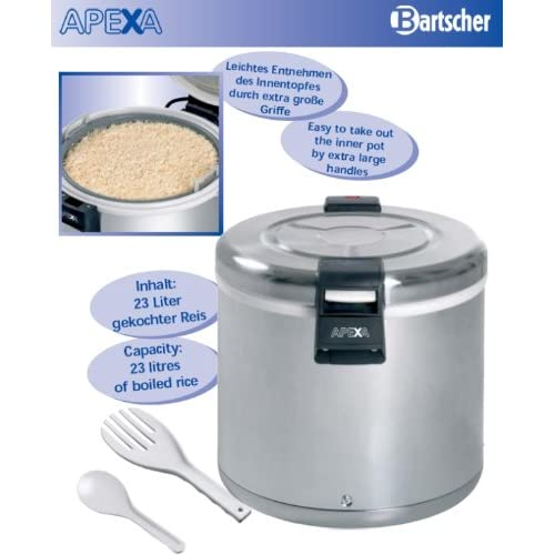 Electric rice warmers professional capacity 8.5 kg – Bartscher A150512