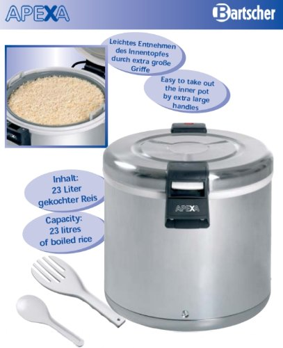 51qHOm5zNNL - Electric rice warmers professional capacity 8.5 kg - Bartscher A150512