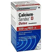 Calcium-Sandoz D Osteo Kautabletten, 50 St. preisvergleich bei billige-tabletten.eu
