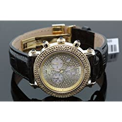 Aqua Master Ladies' Small Diamond Watch Yellow Gold