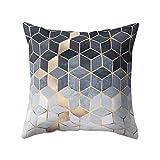 CADANIA Cuscino per Cuscini a Forma di cubo per Gradiente Cuscino Geometrico per la casa Decorativo per la casa - 4# Geometrico Stampato