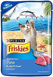 Purina Friskies Tuna Adult Wet Cat Food 80g