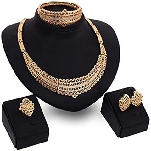 SaySure - Jewelry Set Chunky Necklace And Bangle Sets Designer