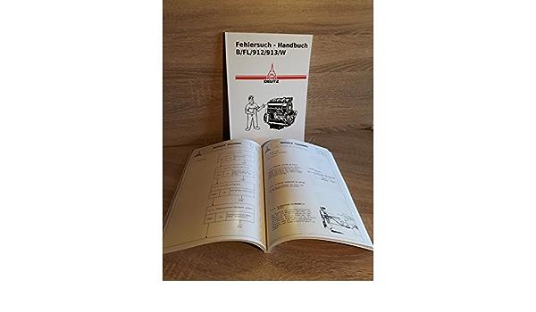 Fehlersuch Handbuch Deutz Motor 913 F3L913 für Traktor D6007