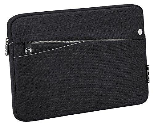 """PEDEA Tablet PC Tasche """"Fashion"""" für 12,9 Zoll (32,8cm) Tablet Schutzhülle Tasche Etui Case mit Zubehörfach und Schultergurt, schwarz"""